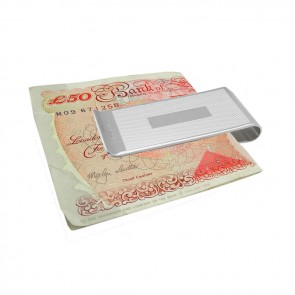 Sterling Silver Two Tone Money Clip