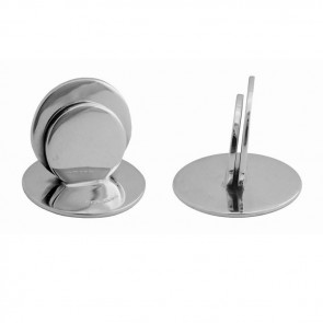Sterling Silver Small Plain Place Card Holder