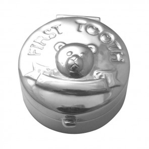 Sterling Silver First Tooth Keepsake Box