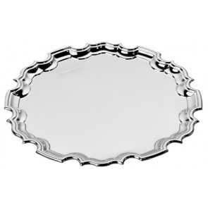 Sterling Silver Chippendale Waiter 13cm 5 Inch