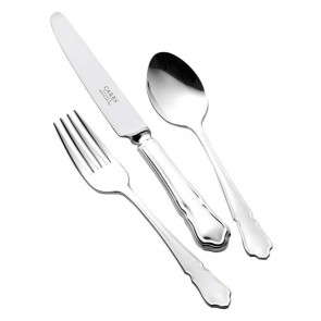 Children's Silver Plated Cutlery Set Dubarry Design