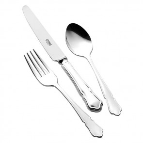 Children's Silver Cutlery Set Dubarry Handle