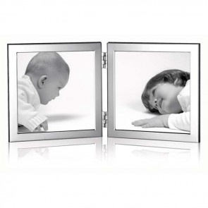 Flat Narrow Folded Double10X10 cm Contemporary Photo Frame