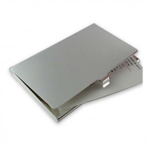 Plated Sterling Silver Plain Business Or Credit Card Case