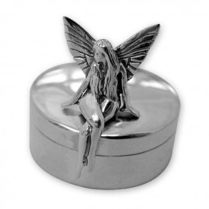 Sterling Silver Sitting Tooth Fairy Box