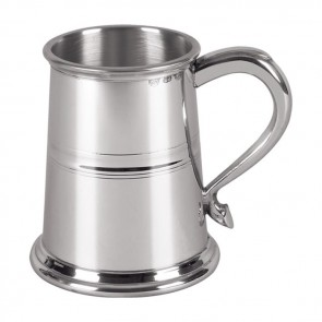 Pewter One Pint Heavyweight Tankard