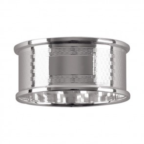Sterling Silver Lined Napkin Ring
