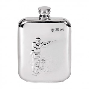 Pewter Shooting Flask 17cl