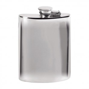 Pewter 17cl Captive Top Flask