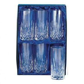 Crystal Hi Ball Glass Set
