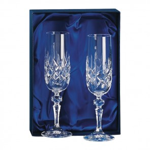Crystal Champagne Glass Set