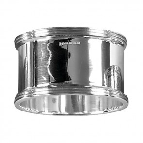 Sterling Silver Simple Style Napkin Ring