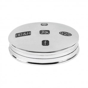 Sterling Silver Hallmarked Pill Box
