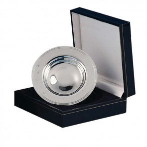 Sterling Silver 3 And 3 Quarter Inch Presentation Drakes Dish