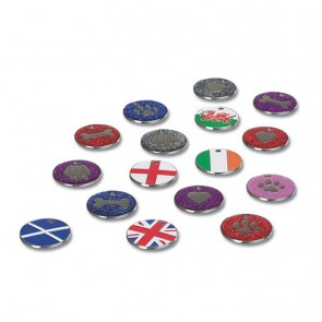 Scotland Flag Nickel Dog Pet Tag