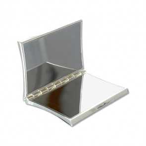 Silver Plated Concave Compact Mirror