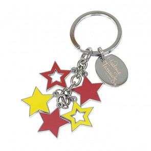Star Charms Key Ring