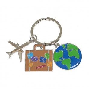 Travel Charms Key Ring