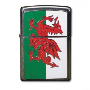 Welsh Flag Zippo Lighter