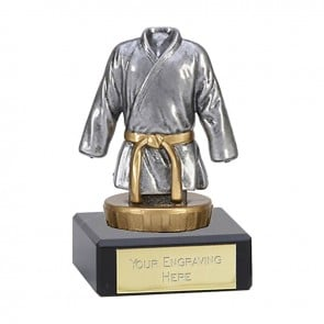 4 Inch Martial Arts figure on Classic Award