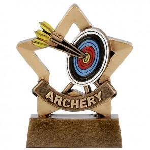 3 Inch Mini Star Archery Award