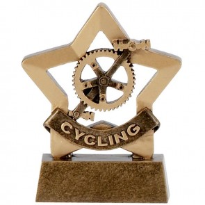 3 Inch Mini Star Cycling Award
