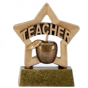 3 Inch Mini Star Teacher Award