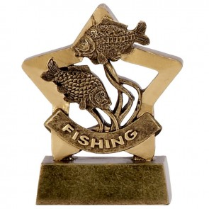 3 Inch Mini Star Fishing Award