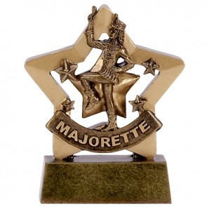 3 Inch Mini Star Majorette Award
