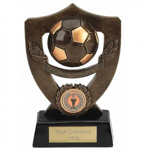 7 Inch Shield Back Plain Football Award