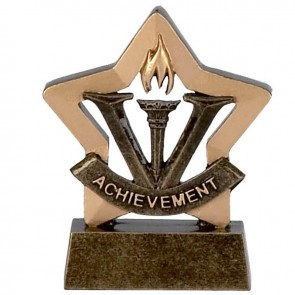 3 Inch Mini Star Achievement Award