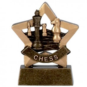 3 Inch Mini Star Chess Award