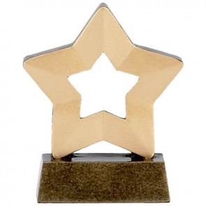 3 Inch Mini Star Plain Award