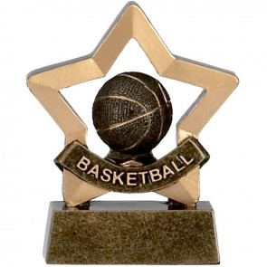 3 Inch Mini Star Basketball Award