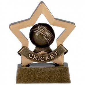 3 Inch Mini Star Cricket Award