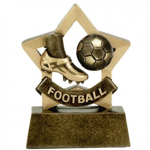 3 Inch Mini Star Football Boot Award