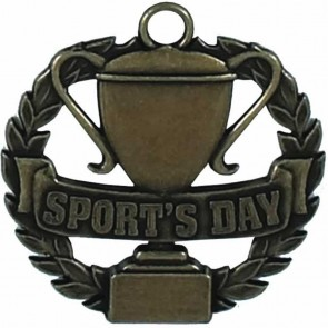 Bronze Sports Day Medal
