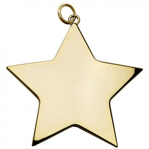 5cm Gold Small Star Medal