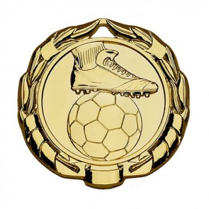 45mm Gold Sparta Football Medal