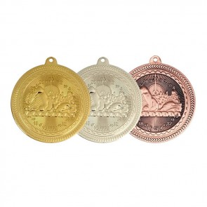 50mm Swimming Silver Medal