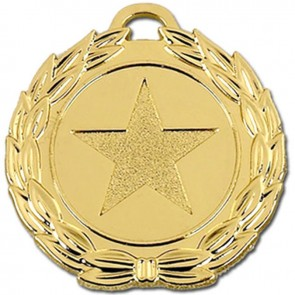40mm Megastar Gold Medal