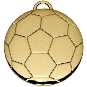 40mm Gold Football Medal