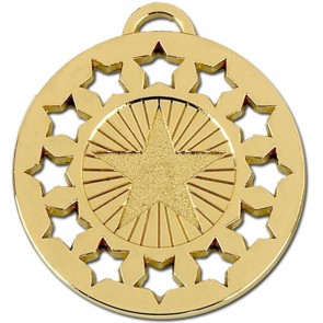 40mm Gold Constellation Medal