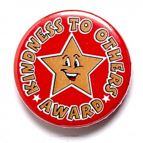 1 Inch Kindness To Others Pin Badge