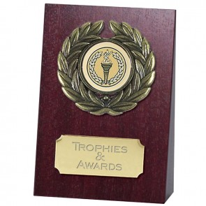 4 Inch Free Standing Wedge Plaque Award
