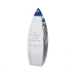 9 Inch Conical Optical Crystal Award