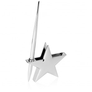 3 Inch Bright Finish Star Gift Masterwin Pen Holder