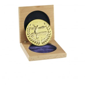60mm Longest Drive Golf Wreath Medal