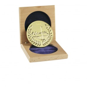 60mm Nearest The Pin Golf Wreath Medal