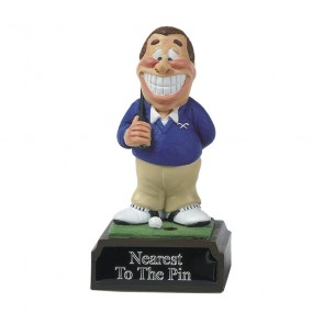 4 Inch Humorous Nearest The Pin Golf Heroes Award